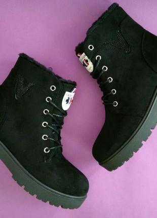 36-41 р женские зимние ботинки сапоги