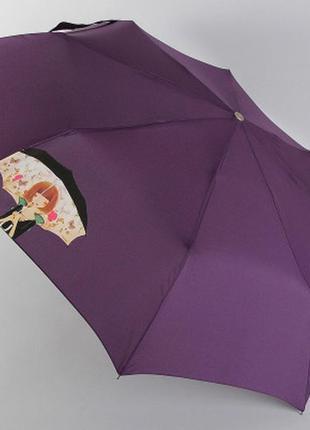 Зонт женский полуавтомат airton 3612 девочка