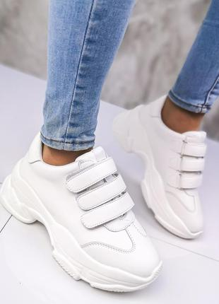 Кроссовки на липучке