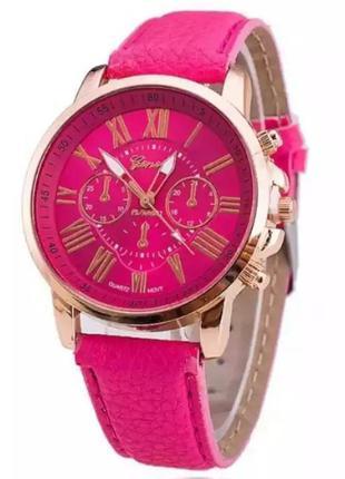 Часы наручные женские розовые