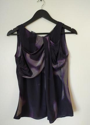 Блуза, топ от moschino,100% шелк