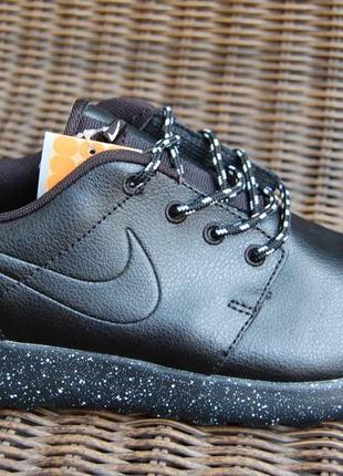 Мужские кожаные кроссовки n.r.run