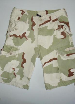 Шорты армейские камуфляжные paratrooper 3 desert mil-tec (xs)
