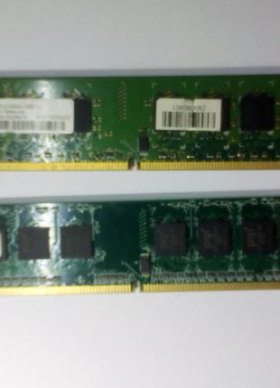 Память DDR2 667 1 Gb