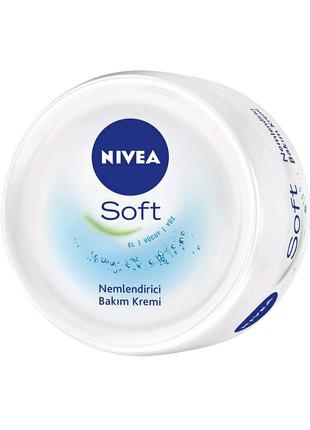 Nivea soft интенсивный увлажняющий крем 300 мл