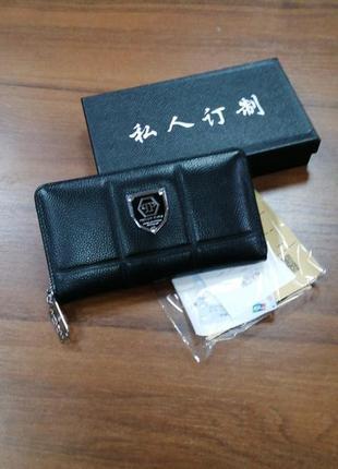 Кожаный кошелек, портмоне, кошелек, стильный кошелек, натураль...