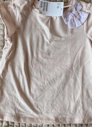 блуза футболка для лавочки h&m