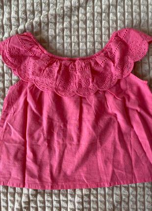 блуза футболка для девочки 110р