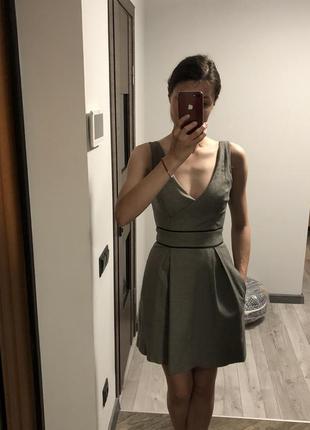 Плаття - сарафан у дрібненьку клітинку від suiteblanco {акція!...