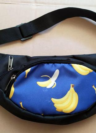 Барсетка, бананка, барыжка, напоясная сумка, сумка на пояс, ко...