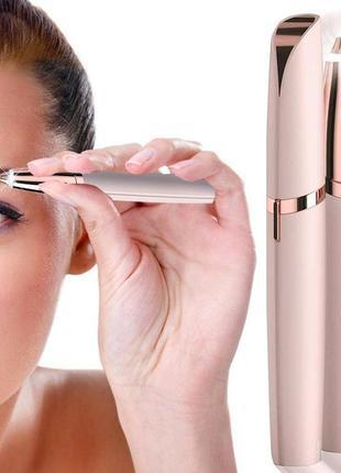 Женский триммер эпилятор для бровей и лица