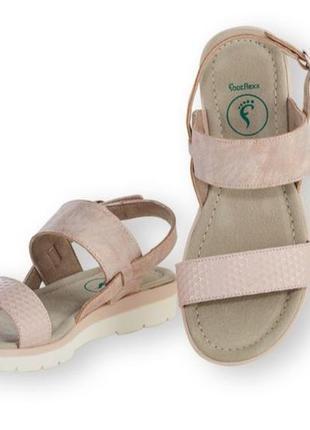 Удобные босоножки для пеших прогулок, подошва footflex