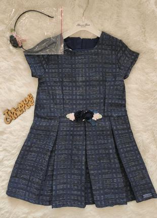 Платье для девочки от Monna Rosa