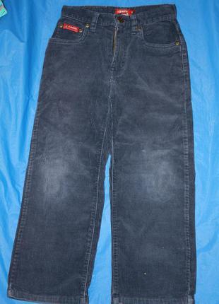 Вельветовые брюки ф.denim мальчику 110/116 , 5/6лет состояние ...