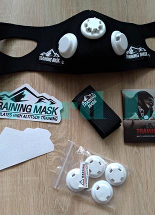 Тренировочная дыхательная маска Elevation Training Mask 2.0 от 85