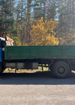 Грузоперевозки МАЗ 6×2,4м. 10тонн, бортовой