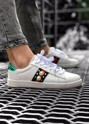 Трендовые женские кроссовки gucci