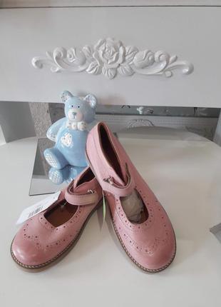 Кожаные туфли 35 размер