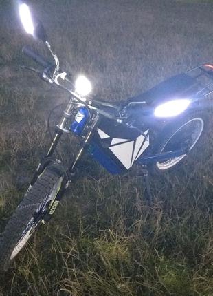 Електро мотоцикл, электро байк. Atom Boost