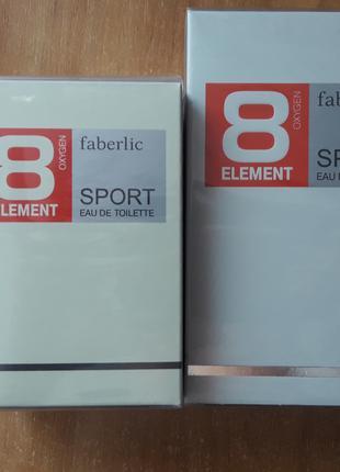 Туалетная вода для мужчин #8 Element Sport #3230 #3221