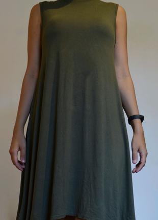 Платье хаки Boohoo