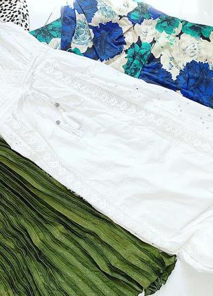 Белый сарафан / платье в пол 100% котон