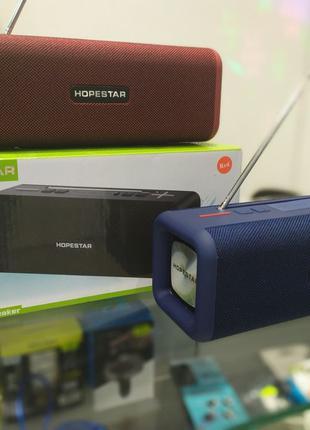 Беспроводная портативная стерео колонка Hopestar T9. Возможен ...