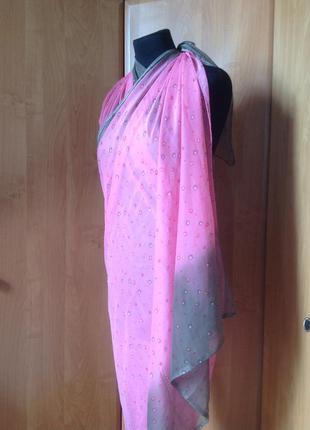 Парео, пляжный платок  на купальник