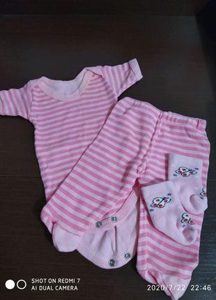 Вещи для грудничка девочки
