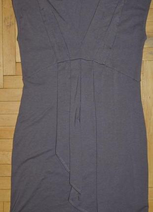 L фирменное стрейчевое платье стильной женщине можно беременной