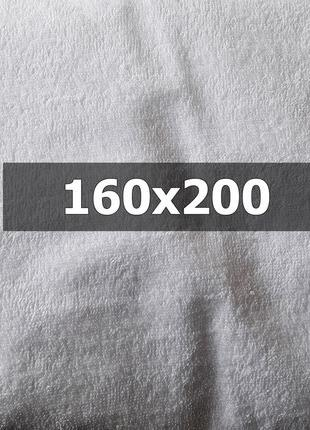 """Водонепроницаемый махровый наматрасник """"Люкс"""" - 160х200"""