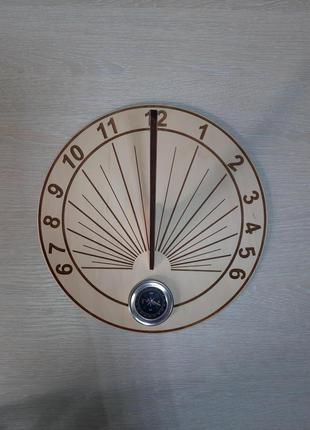 Сонячний годинник модель (гномон)