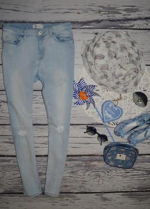 11 лет 146 см обалденные фирменные джинсы джеггинсы скины узка...