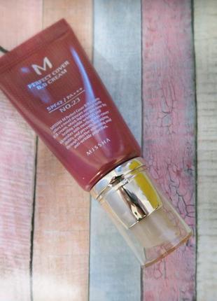 Тональный крем миша, missha perfect cover bb cream, 50 мл 23, ...