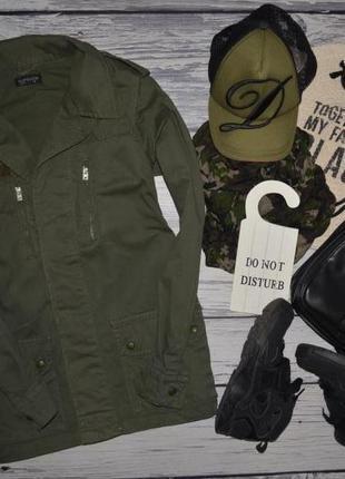 4/36/xs-s обалденная фирменная женская деми парка куртка курто...