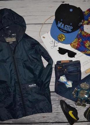 5 - 6 лет 116 см фирменная курточка дождевик для мальчика rega...