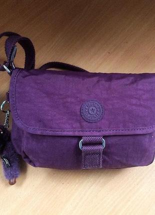 Брендова сумочка на плече kipling 25см*18см*5,5см