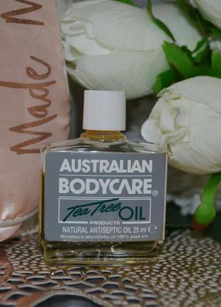 Натуральное масло австралийского чайного дерева australian bod...
