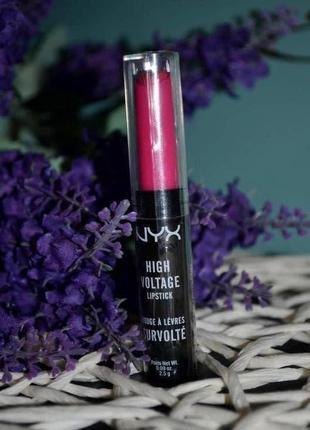 Новая помада для губ nyx professional makeup high voltage lips...