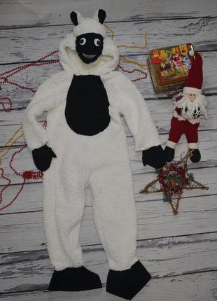 5 - 6 лет 116 см фирменный новогодний карнавальный костюм овеч...