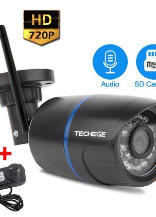Wi-Fi камера наружная, влагозащита, поддержка записи на флешкарту