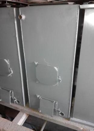 Пиролизный твердотопливный котел Попова(запатентованнаяРазработка