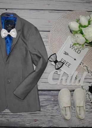 7 лет 122 см фирменный мего крутой пиджак классика очень модно...