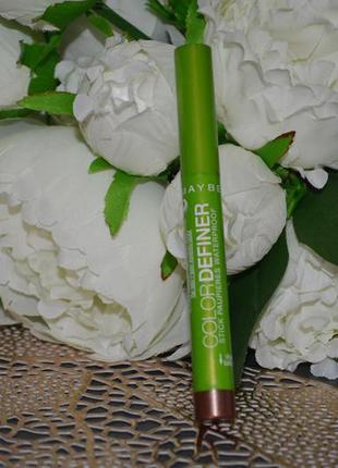 Фирменные тени-карандаш maybelline new york color definer ориг...