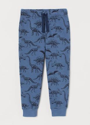 3 - 4 года 104 см h&m новые спортивные штаны батники байковые ...