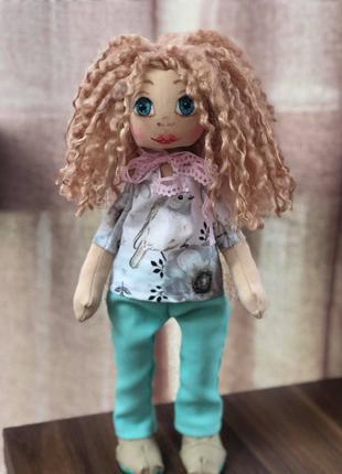 Заяц - Тильда  / Кукла Тильда голубая / Кукла Тильда розовая