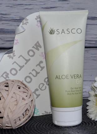 Гель для лица и тела алоэ вера sasco aloe vera gel 150 мл