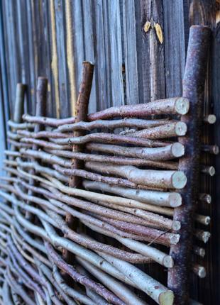 Добрый день, Представляем Декоративный забор из орешника (лещины)