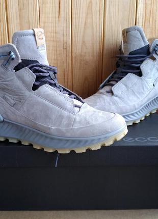 Стильные полностью кожаные водонепроницаемы ботинки хайтопы ec...