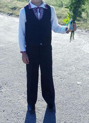 Школьный костюм для мальчика на праздник